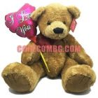 Chippo toys - XLG ANTONIO BEAR  55cм + Балон I love You